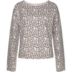 textil Mujer Sudaderas Lascana Sudadera Loungewear Lila