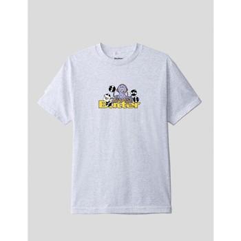 textil Hombre Camisetas manga corta Butter Goods CAMISETA  OCTOPUS LOGO TEE ASH GREY Gris