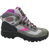 Zapatos Mujer Zapatillas altas Grisport Grigio Scamosciato Verdes