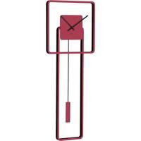 Casa Relojes Hermle 61022-362200, Quartz, Red, Analogue, Modern Rojo