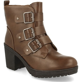 Zapatos Mujer Botines Camelia L231 Kaki