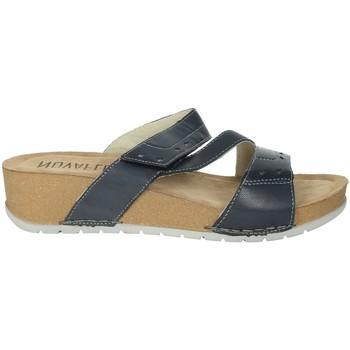 Zapatos Mujer Zuecos (Mules) Novaflex FALERONE Azul