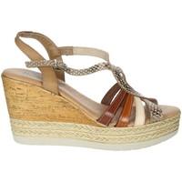 Zapatos Mujer Sandalias Novaflex BARZIO Marrón cuero
