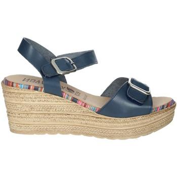 Zapatos Mujer Sandalias Novaflex BARBATA Azul