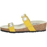 Zapatos Mujer Zuecos (Mules) Novaflex ADRARA Amarillo