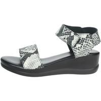 Zapatos Mujer Sandalias Novaflex ACERNO Blanco/Negro