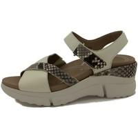 Zapatos Mujer Sandalias Piesanto 210875 Blanco