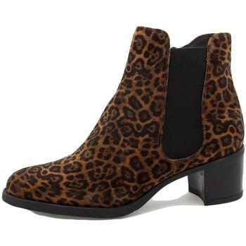 Zapatos Mujer Botines Piesanto 215447 Marrón