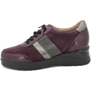 Zapatos Mujer Derbie Piesanto 215751 Burdeo