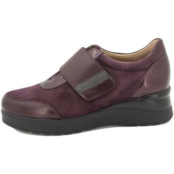 Zapatos Mujer Slip on Piesanto 215752 Burdeo