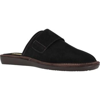 Zapatos Hombre Pantuflas Nordikas 375 Negro