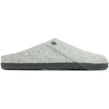 Zapatos Hombre Pantuflas Birkenstock Zermatt Rivet Gris