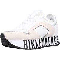 Zapatos Mujer Zapatillas bajas Bikkembergs LATY - LOW TOP LACE UP Blanco