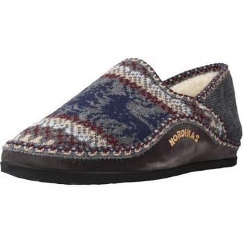 Zapatos Hombre Pantuflas Nordikas 3002 Gris