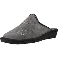 Zapatos Mujer Pantuflas Nordikas 1747 8 Gris