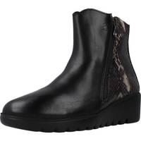 Zapatos Mujer Botines 24 Hrs 25080 Negro