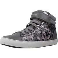 Zapatos Niña Zapatillas altas Geox J GISLI GIRL Gris