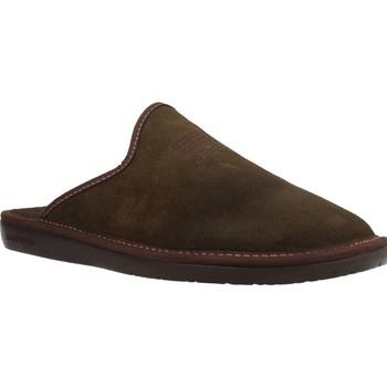 Zapatos Hombre Pantuflas Nordikas TOP LINE AFELPADO Verde