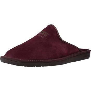 Zapatos Hombre Pantuflas Nordikas 236 Rojo