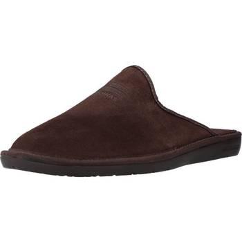 Zapatos Hombre Pantuflas Nordikas 236 Marron