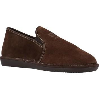 Zapatos Hombre Pantuflas Nordikas 132 Marron