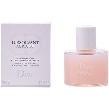 Belleza Mujer Quita esmalte Dior Dissolvant Abricot Gentle Polish Remover