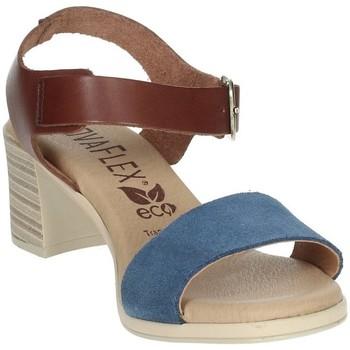 Zapatos Mujer Sandalias Novaflex BARBIANELLO Marrón cuero