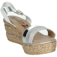 Zapatos Mujer Sandalias Novaflex BARATILI Blanco/Argent