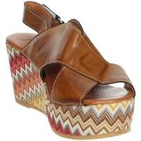 Zapatos Mujer Sandalias Novaflex AZEGLIO Marrón cuero