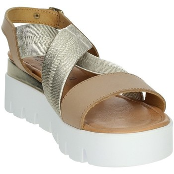 Zapatos Mujer Sandalias Novaflex AGRA Marrón cuero