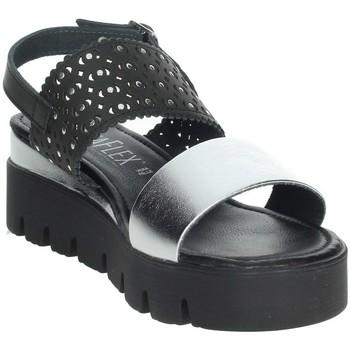Zapatos Mujer Sandalias Novaflex AGOSTA Negro/Plata