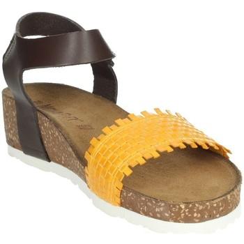 Zapatos Mujer Sandalias Novaflex AGLIENTU Mostaza