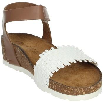Zapatos Mujer Sandalias Novaflex AGLIENTU Blanco