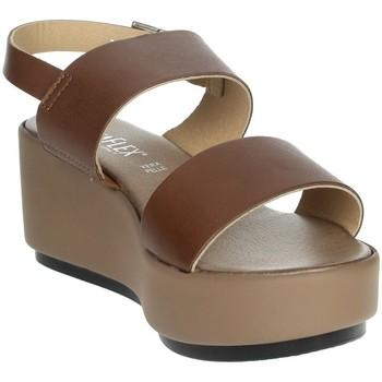 Zapatos Mujer Sandalias Novaflex ACQUARO Marrón