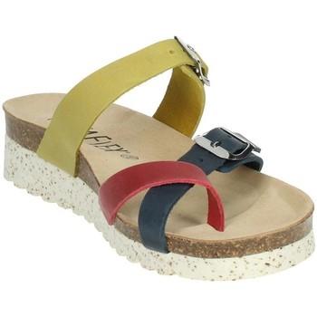 Zapatos Mujer Chanclas Novaflex FENESTRELLE Rojo/azul