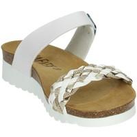 Zapatos Mujer Sandalias Novaflex FELIZZANO Blanco/Oro