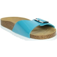 Zapatos Mujer Zuecos (Mules) Novaflex FASCIA azul celeste