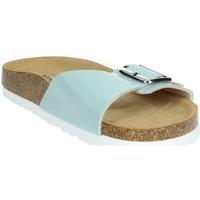 Zapatos Mujer Zuecos (Mules) Novaflex FASCIA Agua Verde