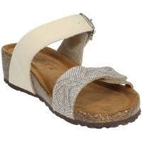 Zapatos Mujer Zuecos (Mules) Novaflex ANDEZENO Beige