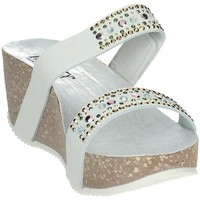 Zapatos Mujer Zuecos (Mules) Novaflex AGNOSINE Blanco
