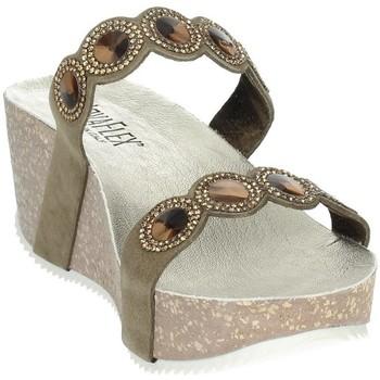 Zapatos Mujer Zuecos (Mules) Novaflex AGNONE Marrón Taupe