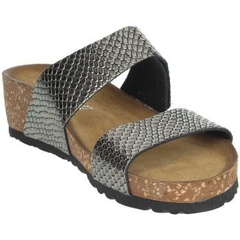 Zapatos Mujer Zuecos (Mules) Novaflex AGEROLA Gris antracita