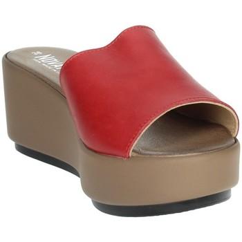 Zapatos Mujer Zuecos (Mules) Novaflex ACQUAPPESA Rojo
