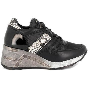 Zapatos Mujer Zapatillas bajas Cetti C-1145 SRA STRASS Negro