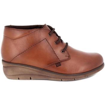 Zapatos Mujer Botas Pepe Menargues 20665 Marrón