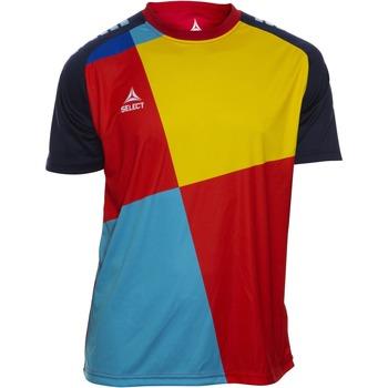 textil Niño Camisetas manga corta Select T-shirt enfant  Player Pop Art bleu/jaune/rouge