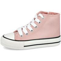 Zapatos Niña Zapatillas altas Bubble Bobble A3454-S ROSA