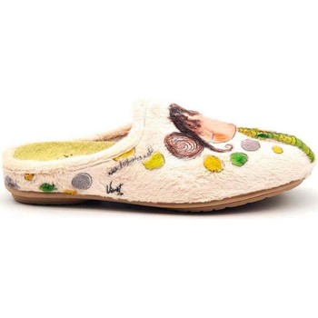 Zapatos Mujer Pantuflas Vivant 192580 Beige