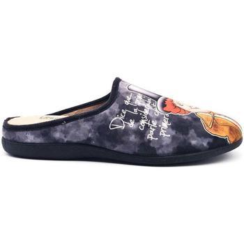 Zapatos Hombre Pantuflas Vivant 529 Negro