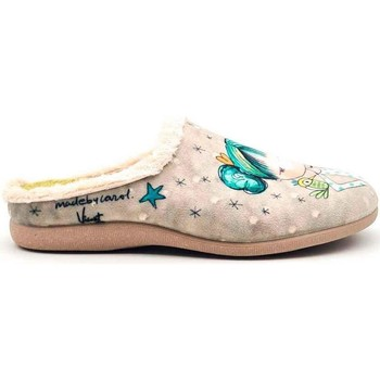 Zapatos Mujer Pantuflas Vivant 202571 Beige